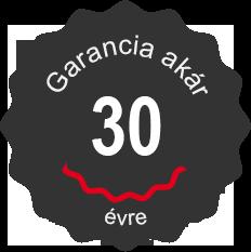 Garancia akár 30 év