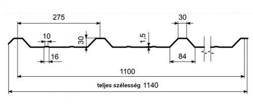 T30 – trapézlemez