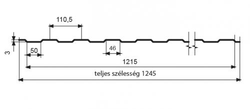 T05 – trapézlemez
